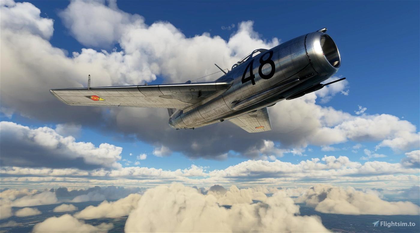 MIG-15 East German Air Force #48
