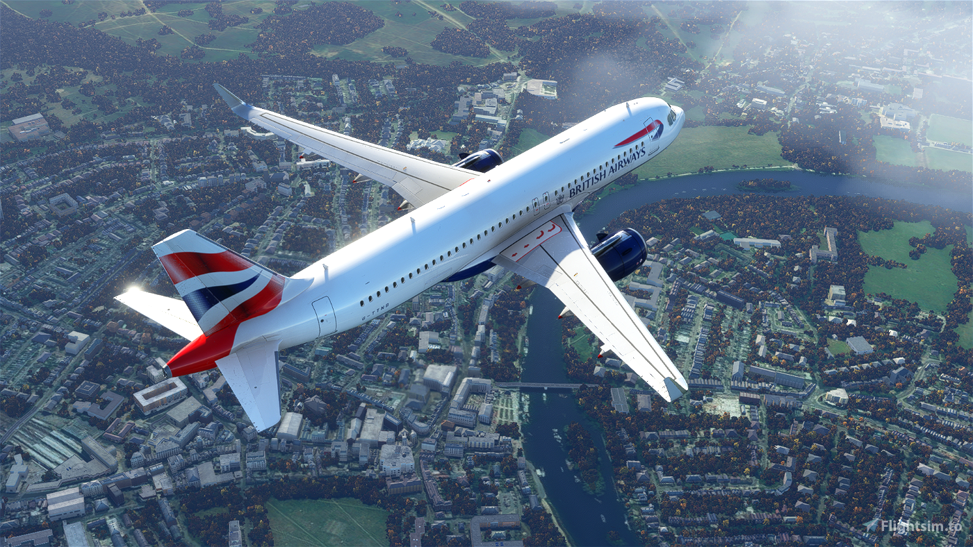 British Airways Livery Clean & Dirty - Ultra (FBW Compatible)