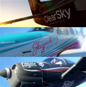 The Skypark Livery Pack - Standard Edition Microsoft Flight Simulator
