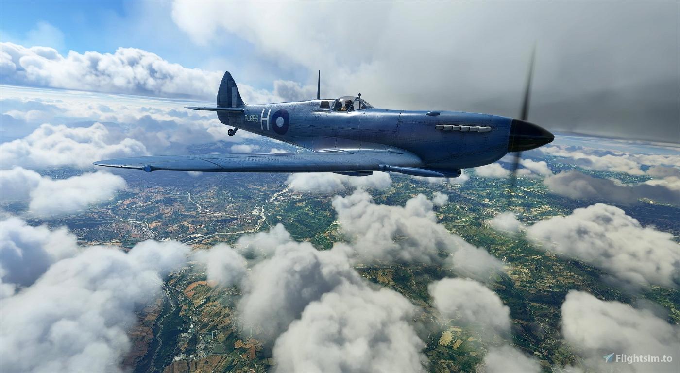 Supermarine Spitfire Mk.IX No 681 Squadron PL855