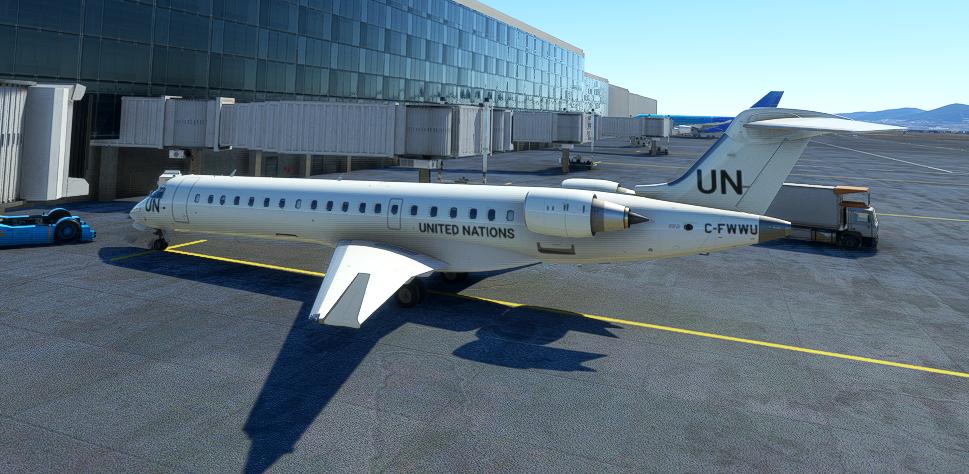 CRJ 550 United Nations [4K Fictional]