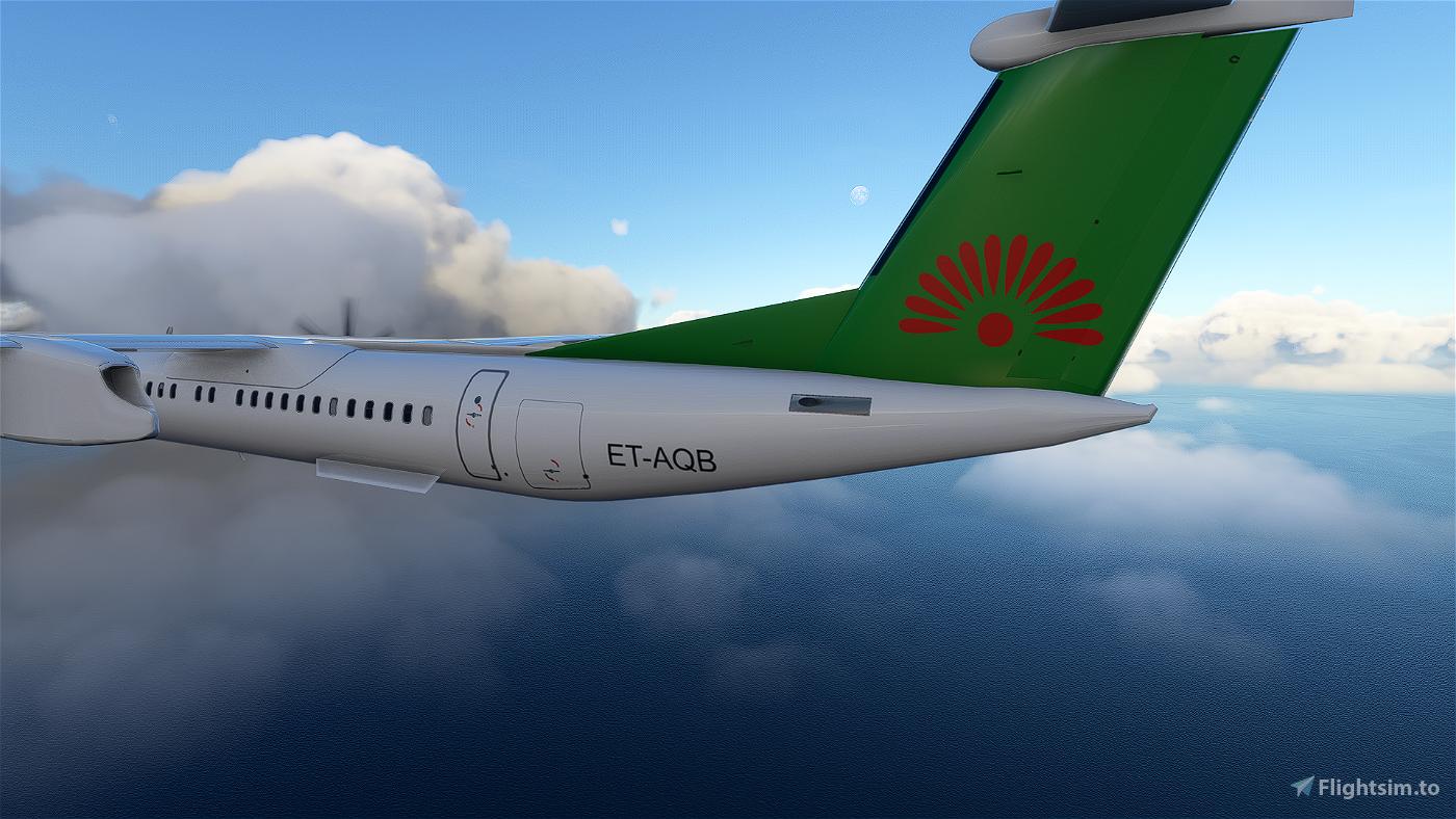 Malawian Airlines Dash8 Q400 | 4K Microsoft Flight Simulator