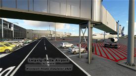 [EDDP] Leipzig-Halle Airport Microsoft Flight Simulator