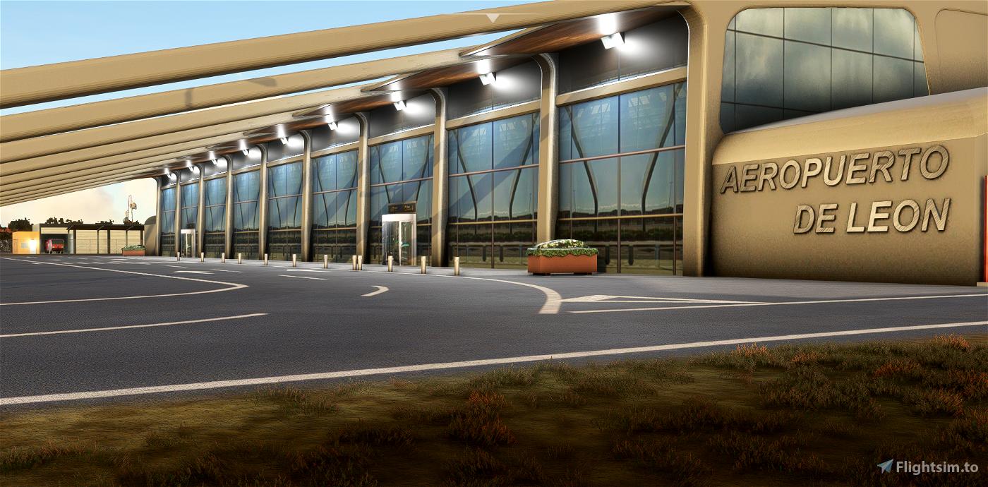 LELN - Aeropuerto de León Flight Simulator 2020