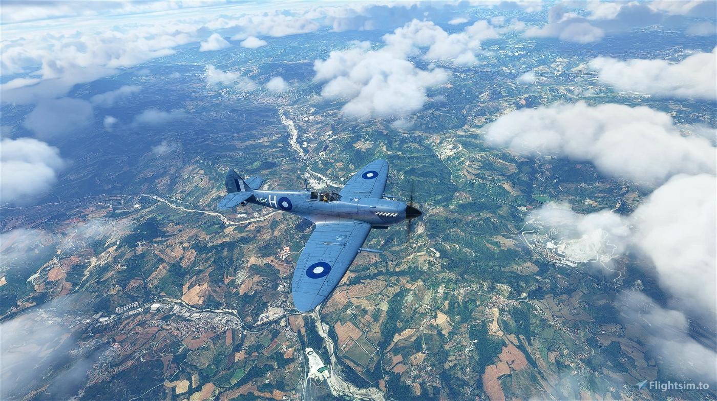 Supermarine Spitfire Mk.IX No 681 Squadron PL855 Flight Simulator 2020