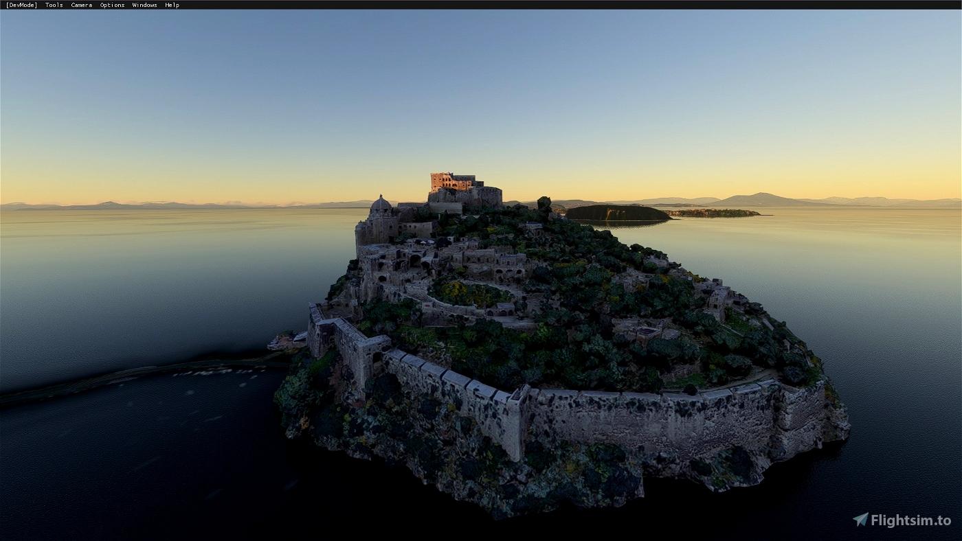Aragonese Castle of Ischia (Naples)