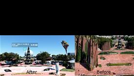 Disney's Epcot Microsoft Flight Simulator