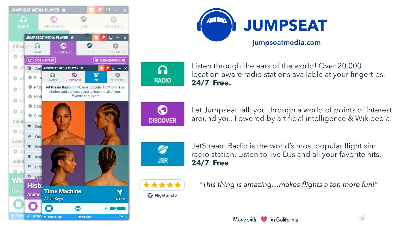 Jumpseat Radio Microsoft Flight Simulator
