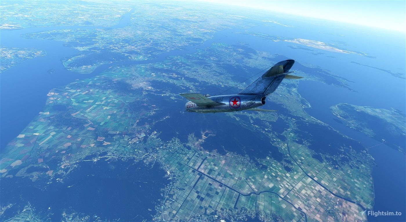 MIG-15 North Korean Air Force #2057