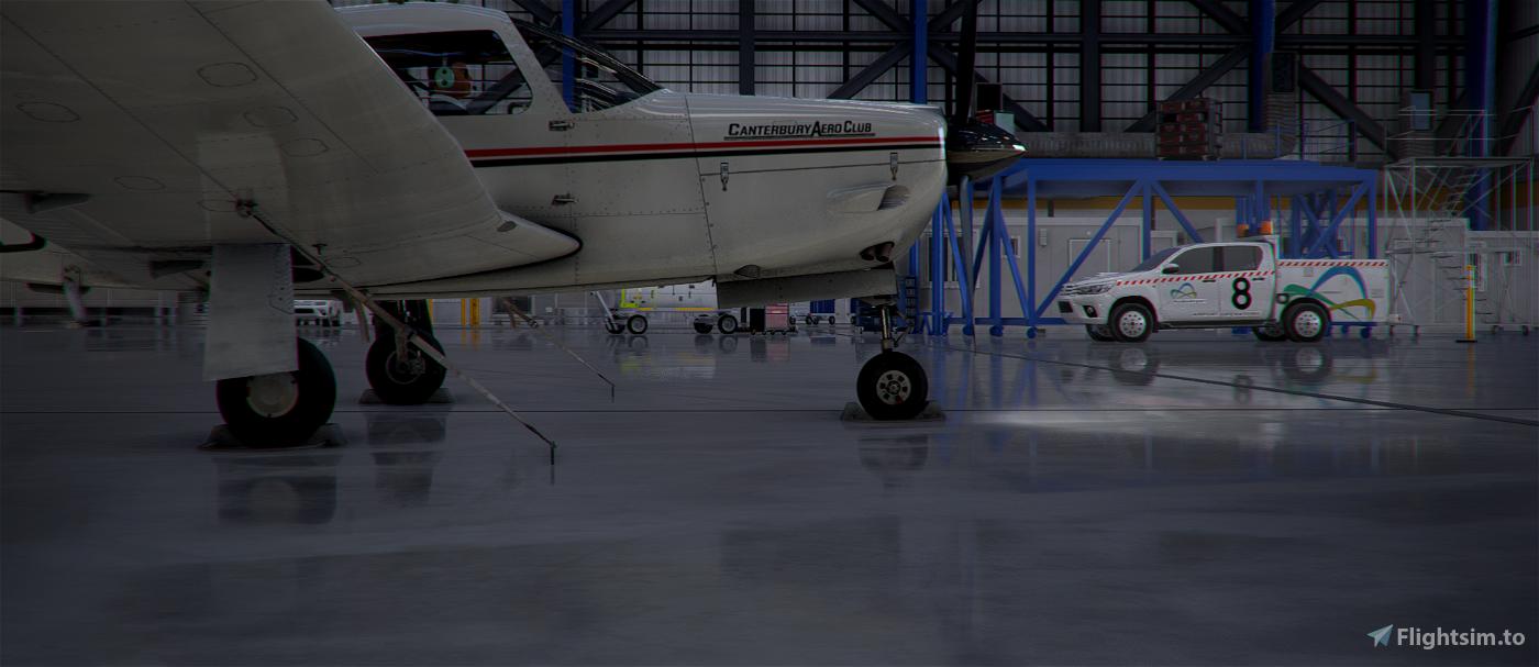 New Zealand Canterbury Aero Club Piper PA28R Arrow III (JustFlight) Flight Simulator 2020