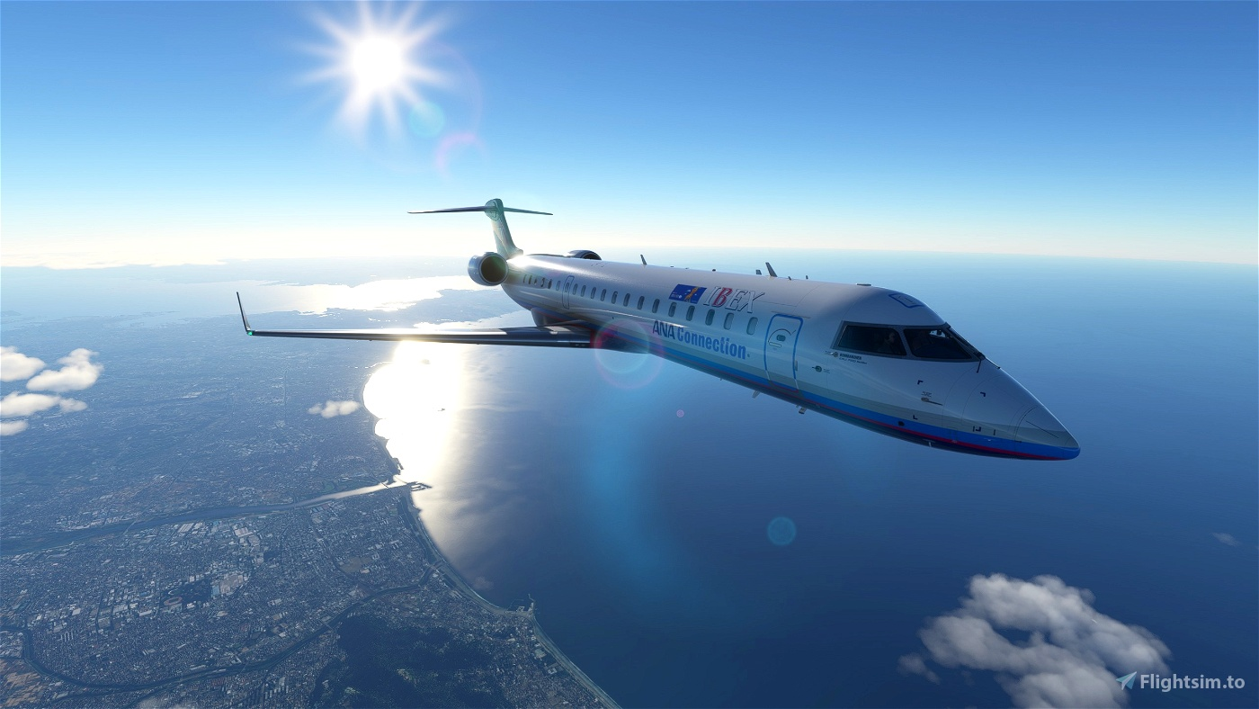 Aerosoft CRJ 700 IBEX Airlines (JAPAN) [4K] Version 3.1