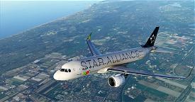 [A32NX] | [8K] A320neo TAP Air Portugal Star Alliance (CS-TVF) Very Detailed Clean/Dirty Version Microsoft Flight Simulator