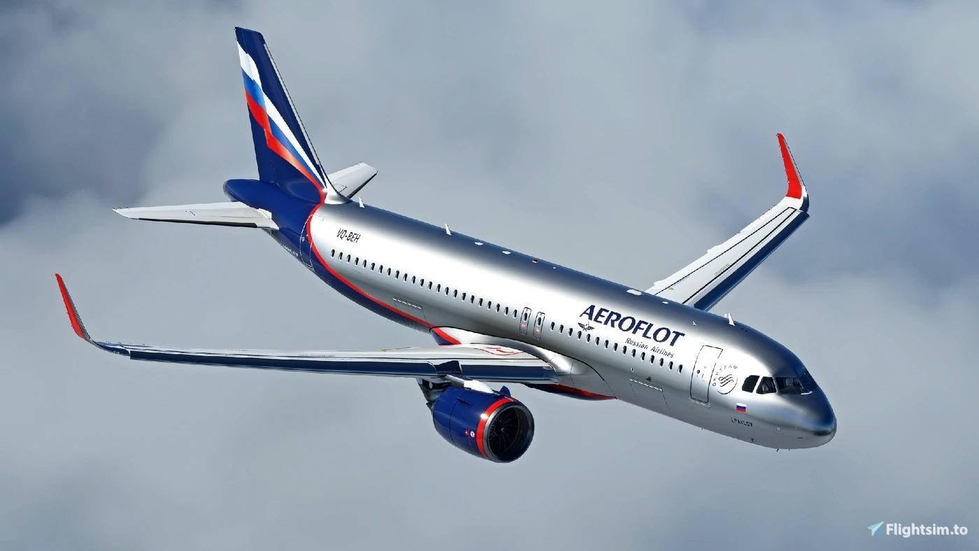 Aeroflot A320Neo [8K] - FBW A32NX Flight Simulator 2020