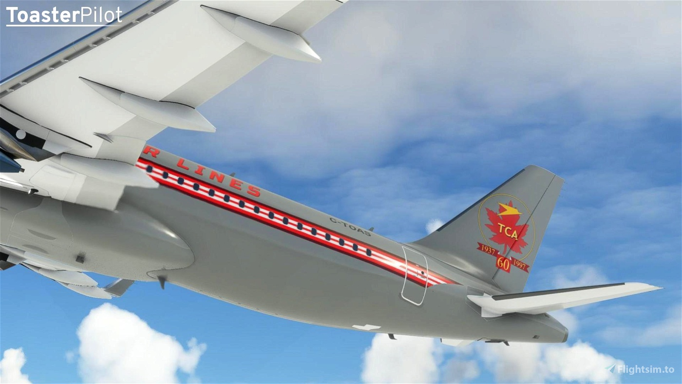 8K Air Canada New and Retro Liveries 2-Pack (A32NX)