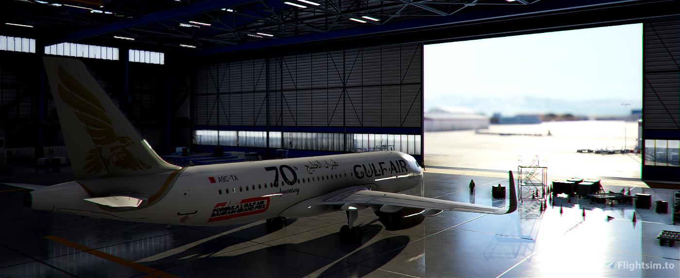 [A32NX] | [8K] Gulf Air (A9C-TA) Very Detailed Clean/Dirty Version