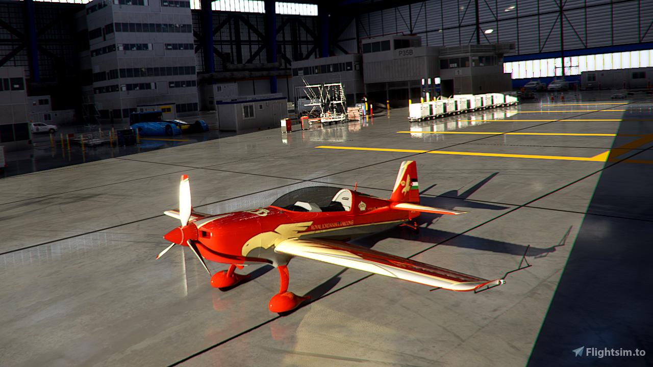 Extra E330 Royal Jordanian Falcons Microsoft Flight Simulator