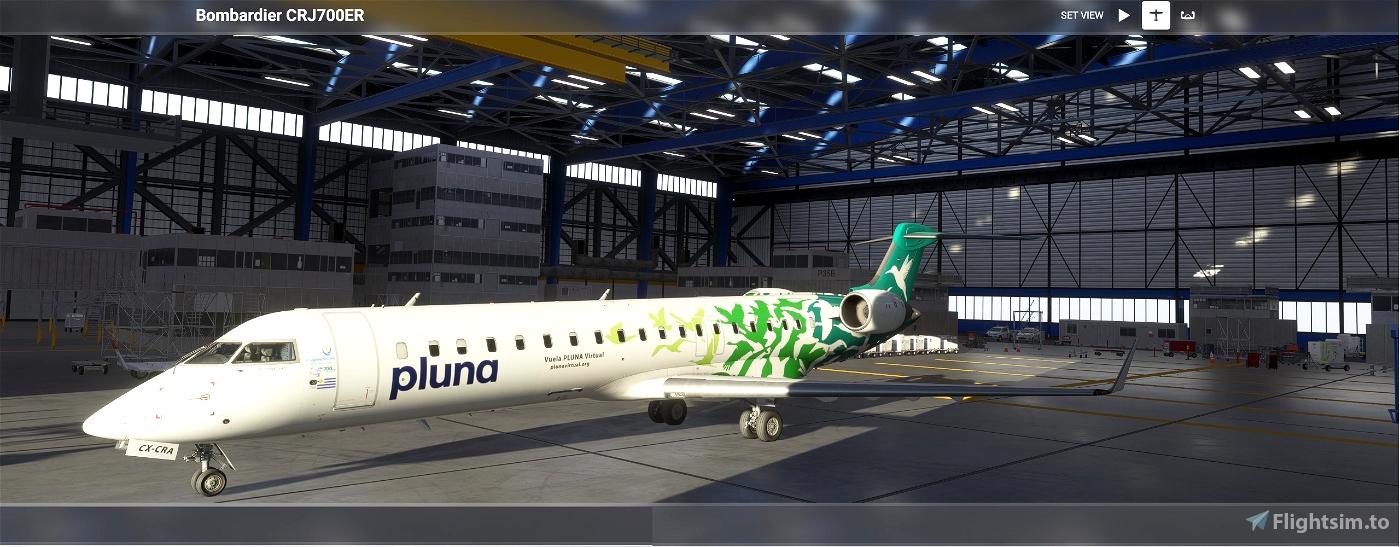 CRJ-700 Primeras Líneas Uruguayas de Navegación Aérea