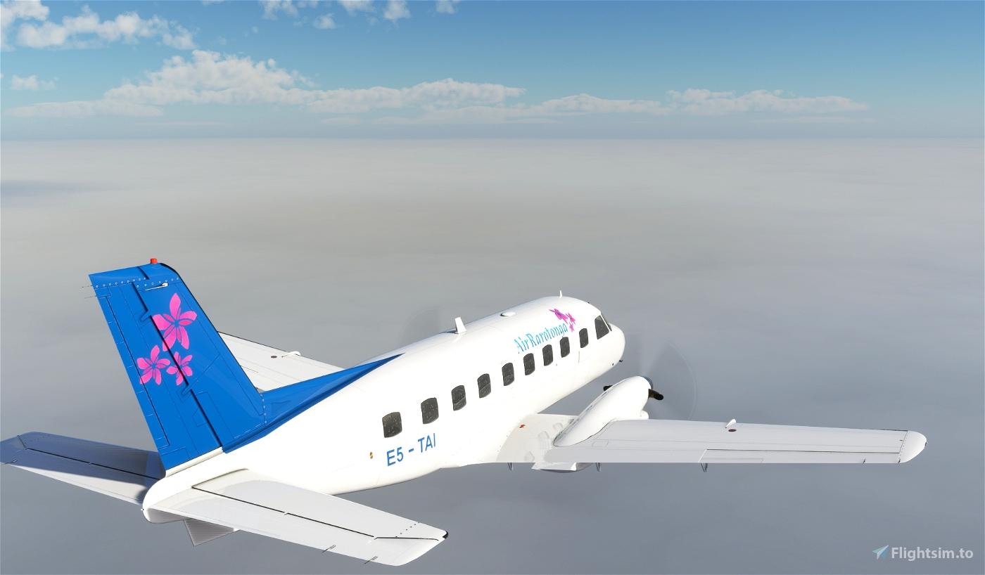 EMB-110P1 Air Rarotonga E5-TAI