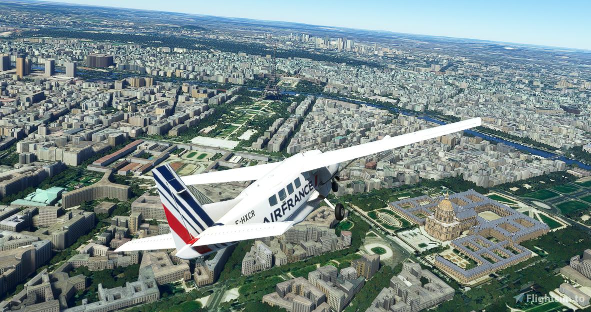 Cessna 208B Grand Caravan Air France [4K Fictional]