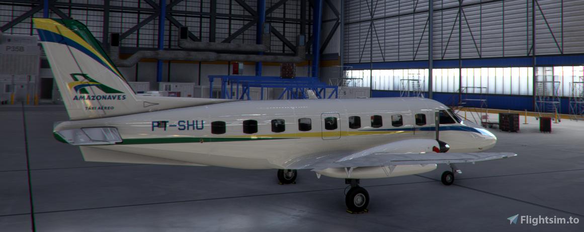 Amazonaves PT-SHU NextGen EMB-110P1