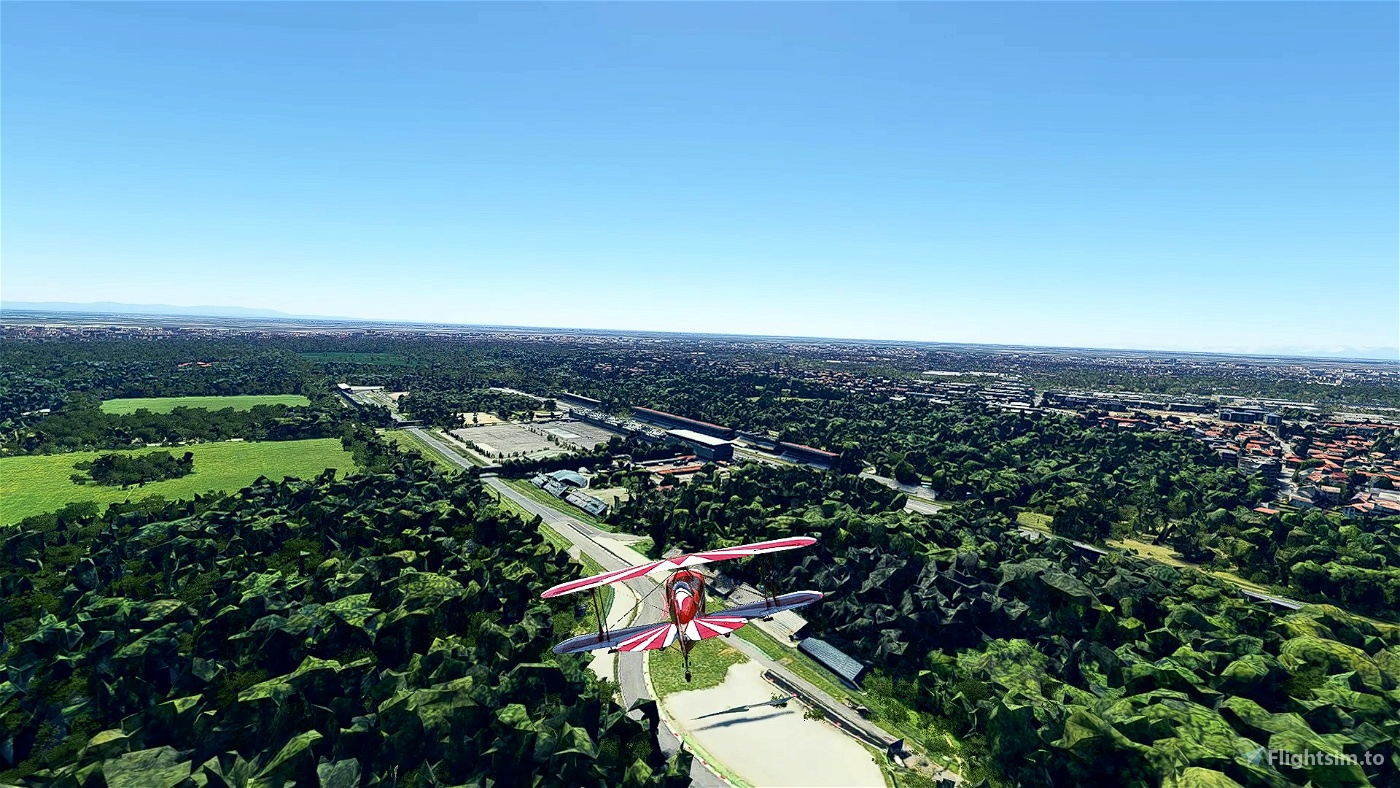 Arcore and Monza racetrack