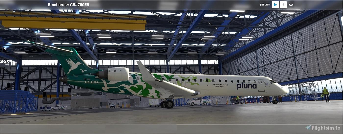 CRJ-700 Primeras Líneas Uruguayas de Navegación Aérea  Flight Simulator 2020