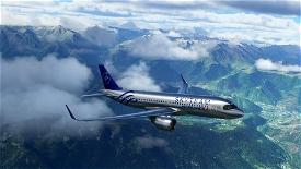 [A32NX] FlyByWireA320neo Air France Skyteam silver livery 8K Image Flight Simulator 2020