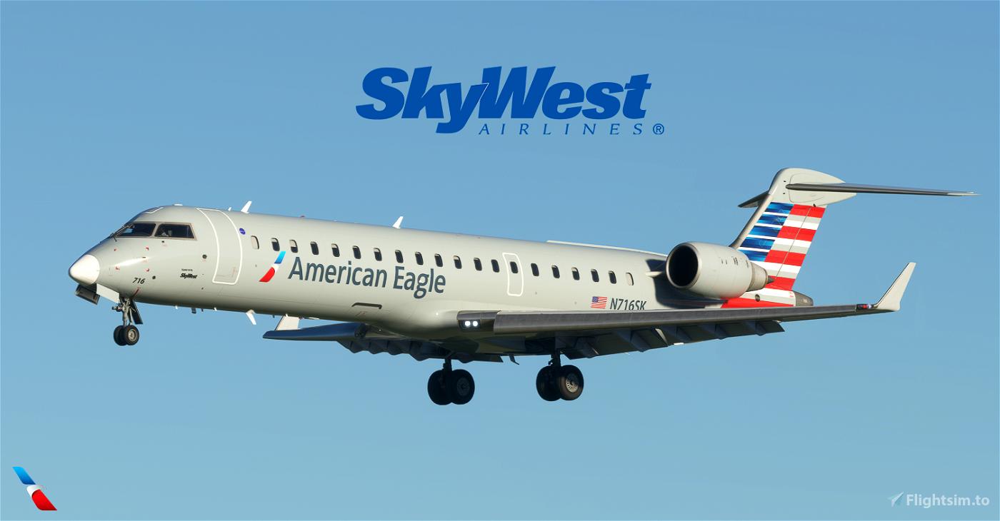 American Eagle (SkyWest) Pack Flight Simulator 2020