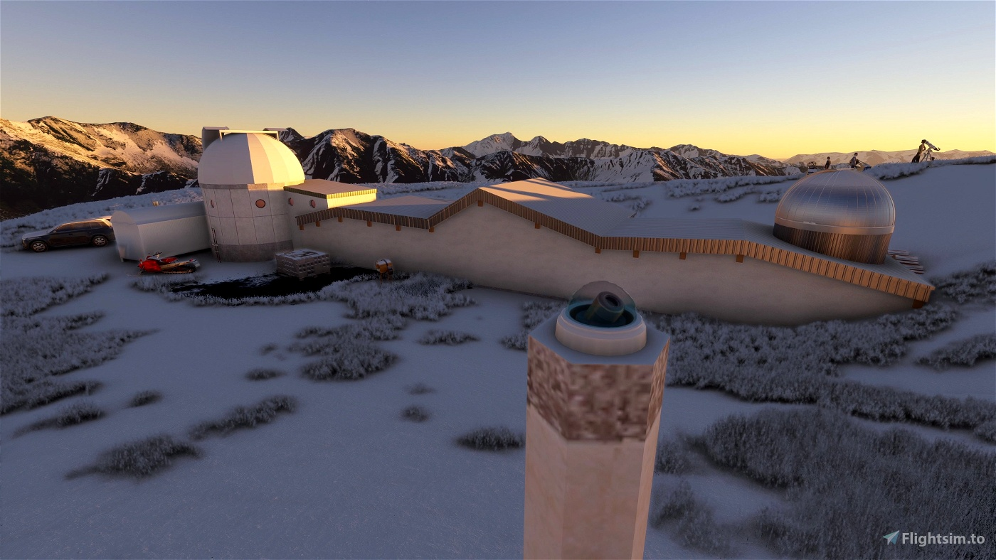 Saint Véran observatory