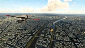Paris Microsoft Flight Simulator
