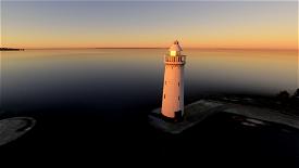 Donaghadee Lighthouse and The Moat Microsoft Flight Simulator