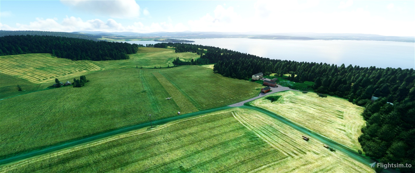 Bush airfields of mid Norway