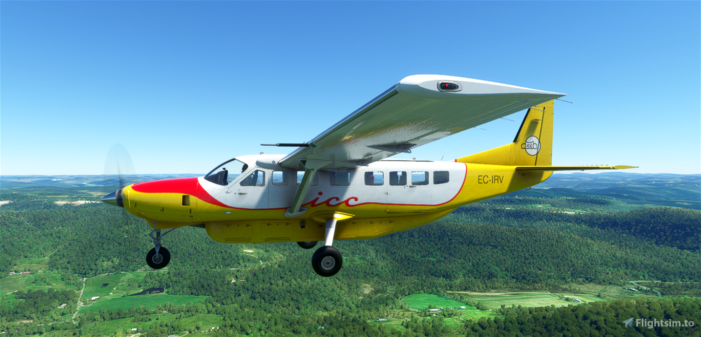 ICC Cessna 208B Microsoft Flight Simulator