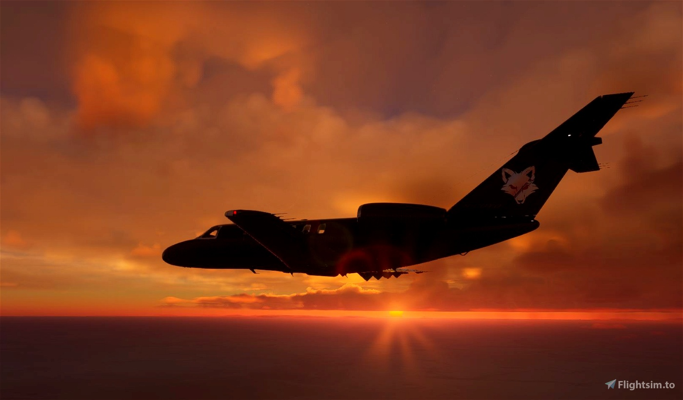 Un-Official Transportes Coyote Cessna CJ4 for The SkyPark. Microsoft Flight Simulator