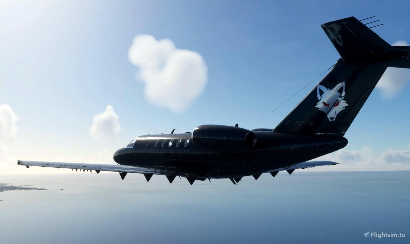 Un-Official Transportes Coyote Cessna CJ4 for The SkyPark.