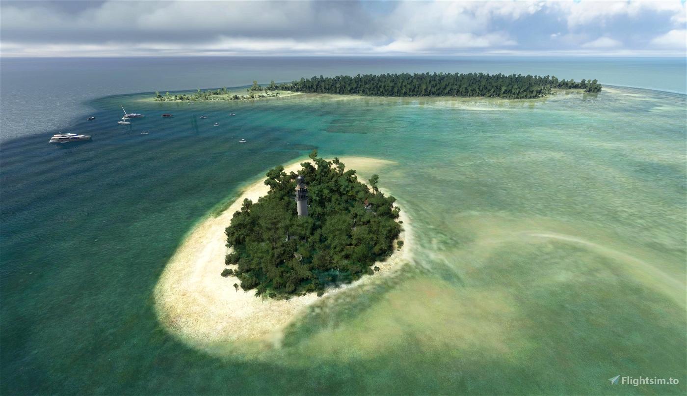Port Douglas Sheraton Mirage Helipad & Low Isles (Reef islands)