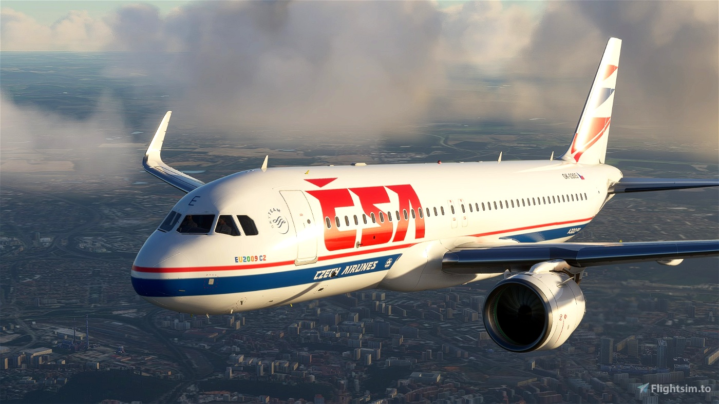FBW A32NX Czech Liveries megapack