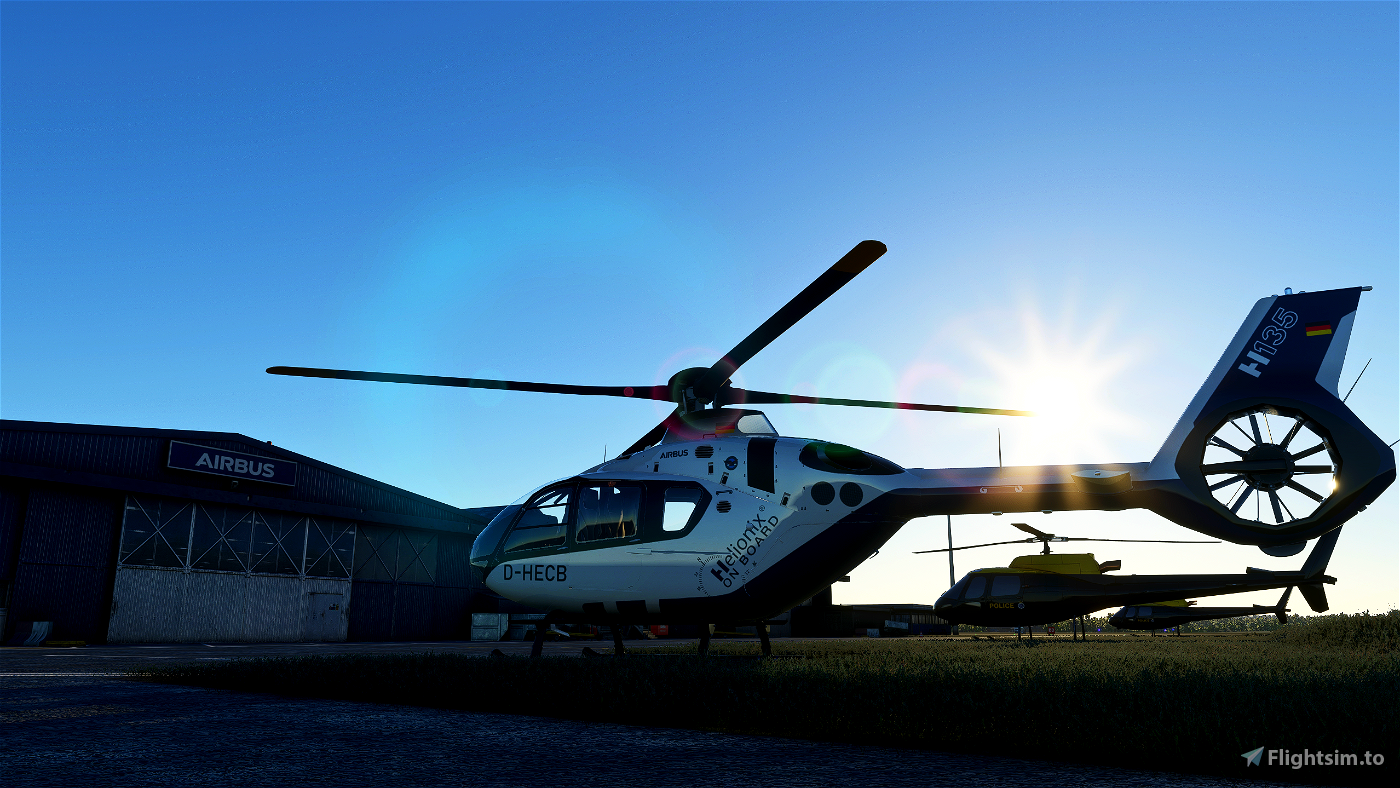 Airbus H135 Helicopter Project Microsoft Flight Simulator