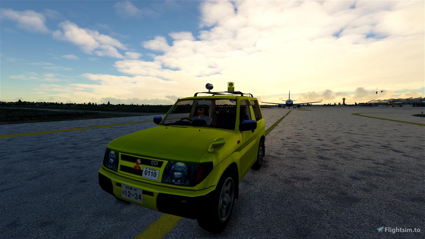 [DRIVABLE] CAR Mitsubishi PAJERO