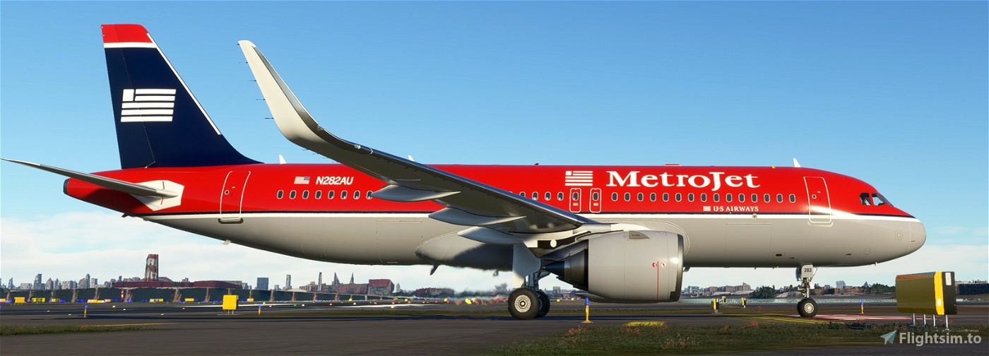 A32NX METROJET (US Airways) 8K