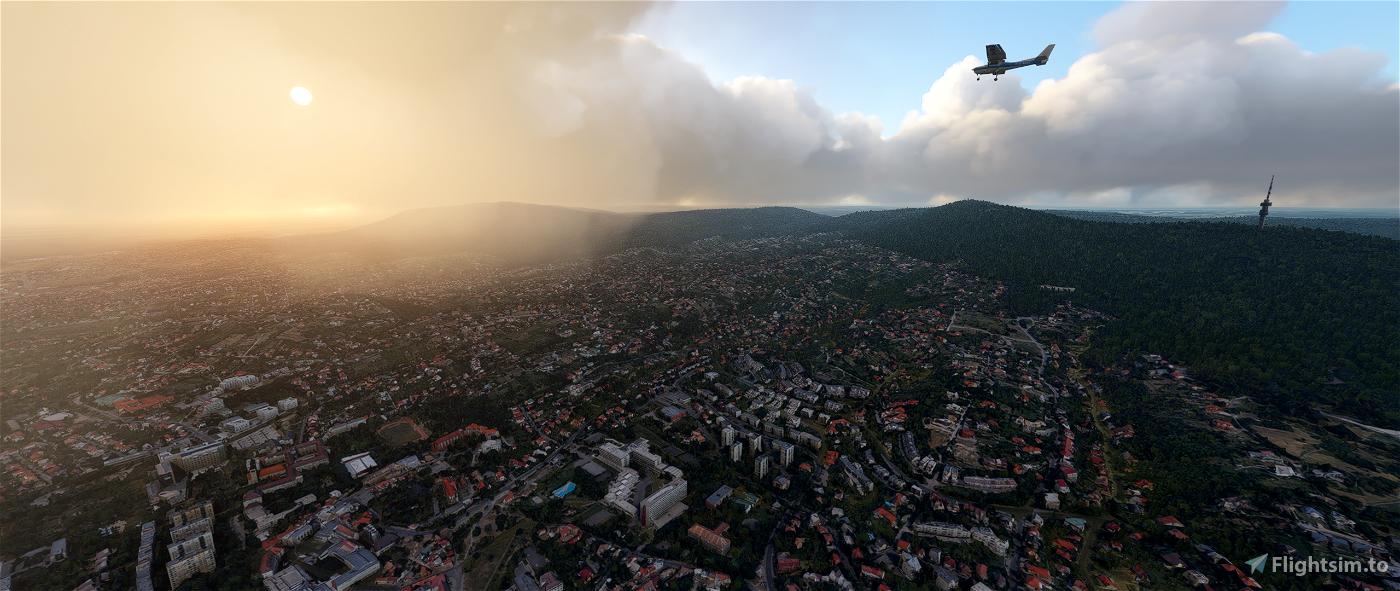 Pécs, Hungary Microsoft Flight Simulator