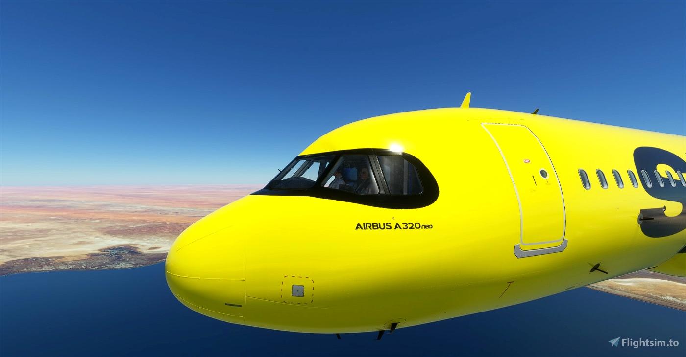 [A32NX] 8K Spirit Airlines