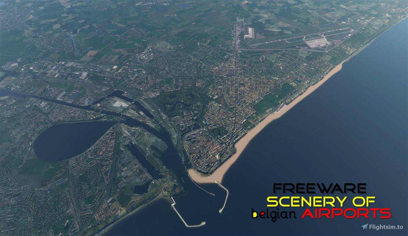 EBOS Oostende-Brugge, Belgium Microsoft Flight Simulator
