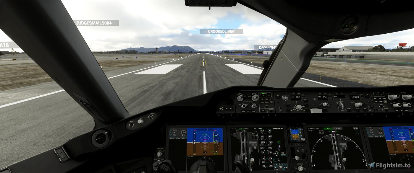 787 Preset Camera Views Microsoft Flight Simulator