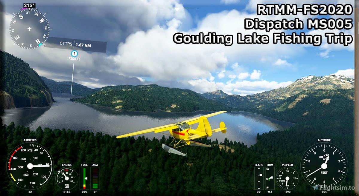 RTMM Dispatch MS005 - Goulding Lake Fishing Trip