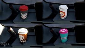 The Skypark Agency A32NX Coffee Cups Microsoft Flight Simulator