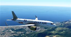 [A32NX] | [8K] Gulf Air (A9C-TA) Very Detailed Clean/Dirty Version Microsoft Flight Simulator