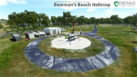 Bowman's Beach Helistop, Sanibel Island, Florida (4FD9) Microsoft Flight Simulator