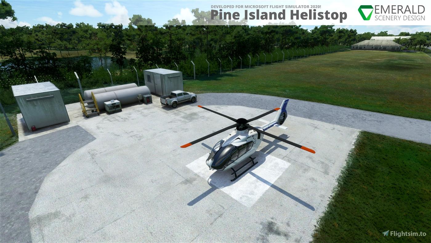 Pine Island Helistop, Florida (4FD6) Microsoft Flight Simulator
