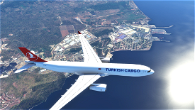 TURKISH CARGO AIRBUS A330 Microsoft Flight Simulator